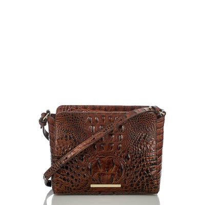 Brahmin Carrie Crossbody - Pecan