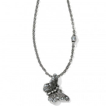 Brighton Solstice Butterfly Necklace - Silver