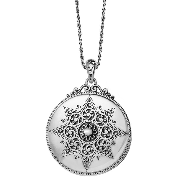 Brighton Locket Necklace - Silver