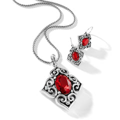 Brighton Alcazar Blaze Gift Set- Red/Silver
