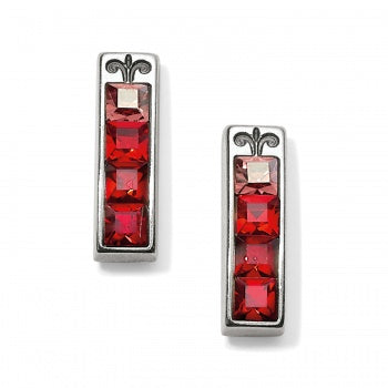 Brighton Spectrum Post Earrings - Red