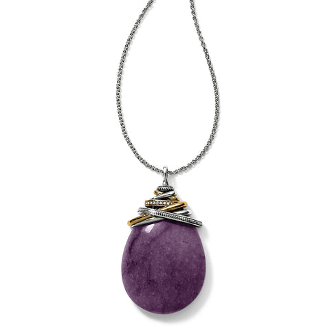 Brighton Amethyst Convertible Necklace - Purple