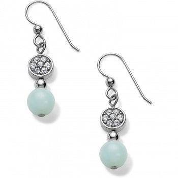 Brighton Prime French Wire Earrings- Silver/Light Blue