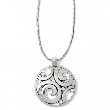 Brighton London Groove Necklace - Silver