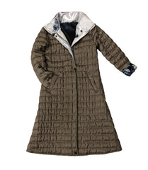 UbU Quilted Reversible Watercolor Print Coat - Multicolor - Sugg. $330.00