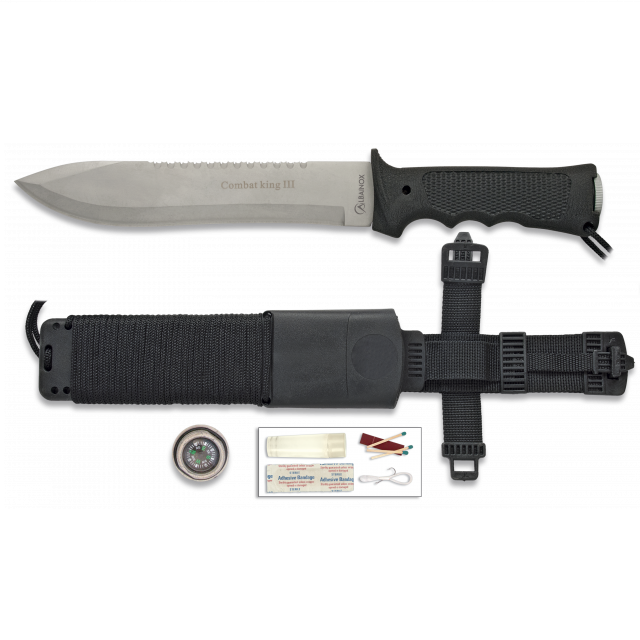 Cuchillo Supervivencia COMBAT KING III