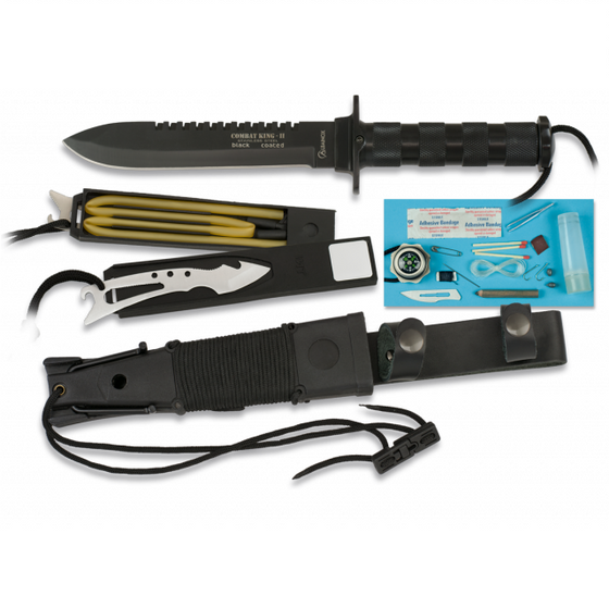 Cuchillo Supervivencia COMBAT KING II Black