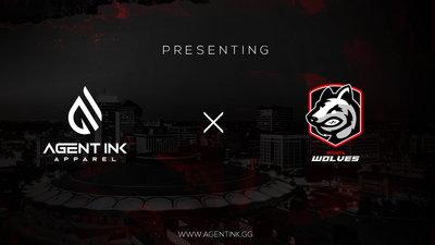 Agent Ink x Wichita Wolves