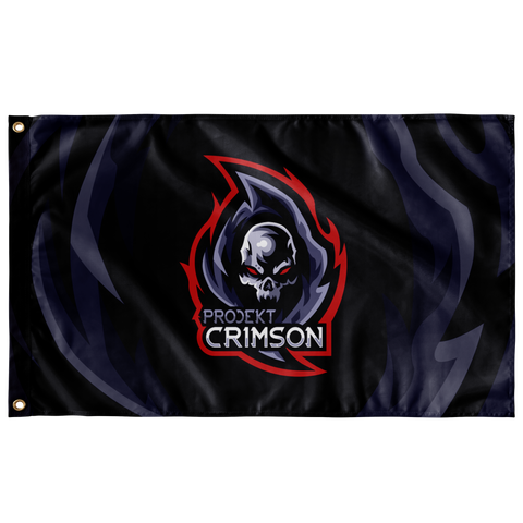 Crimson Wall Flag