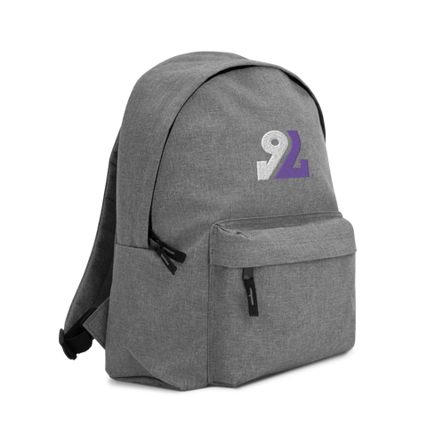 9L Embroidered Backpack