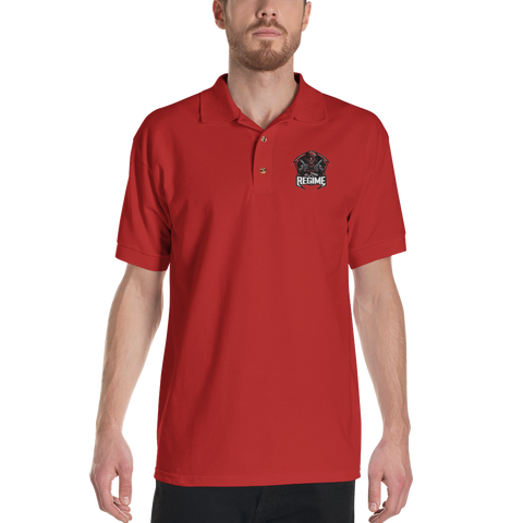 Regime Embroidered Polo