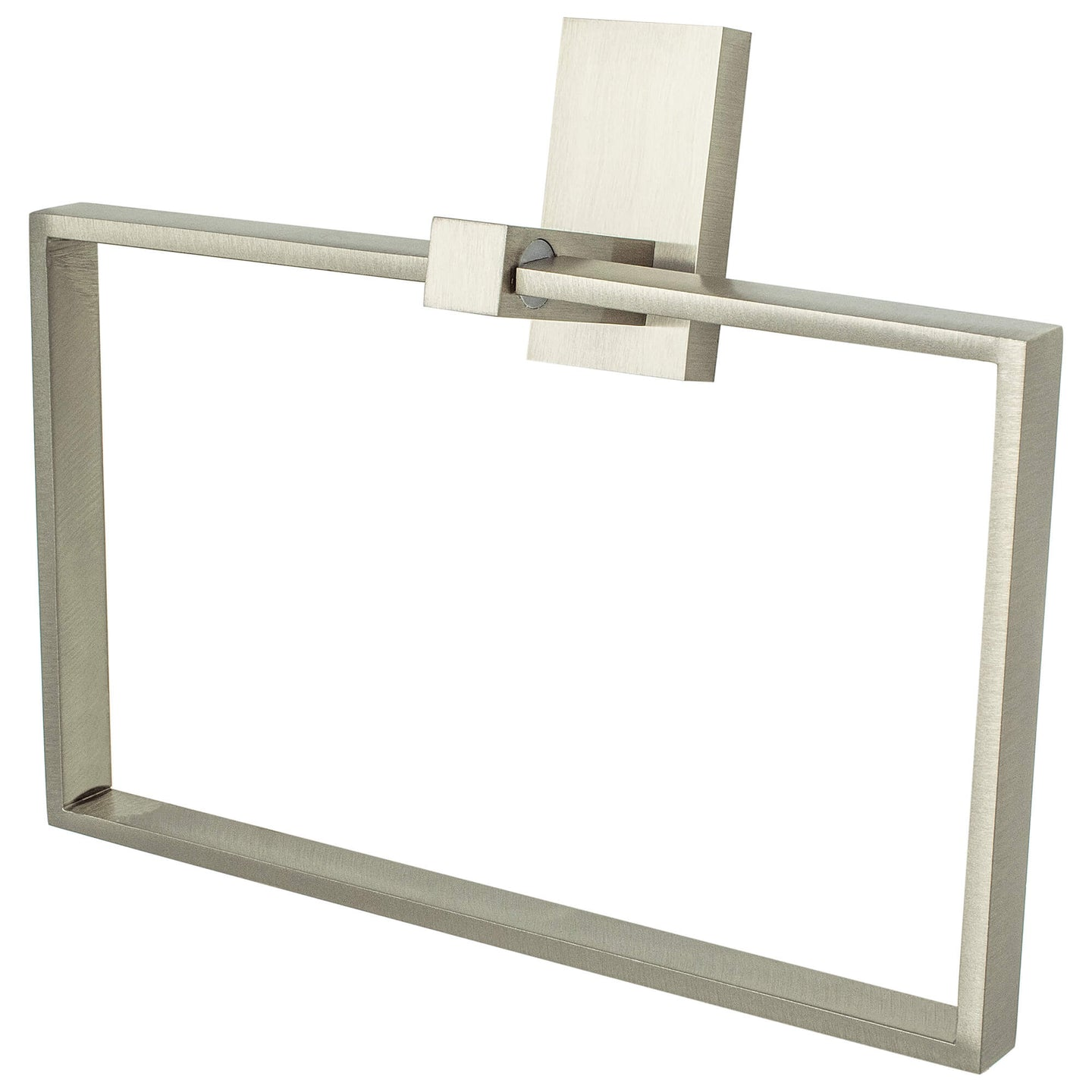 Urban Edge Towel Ring Brushed Nickel