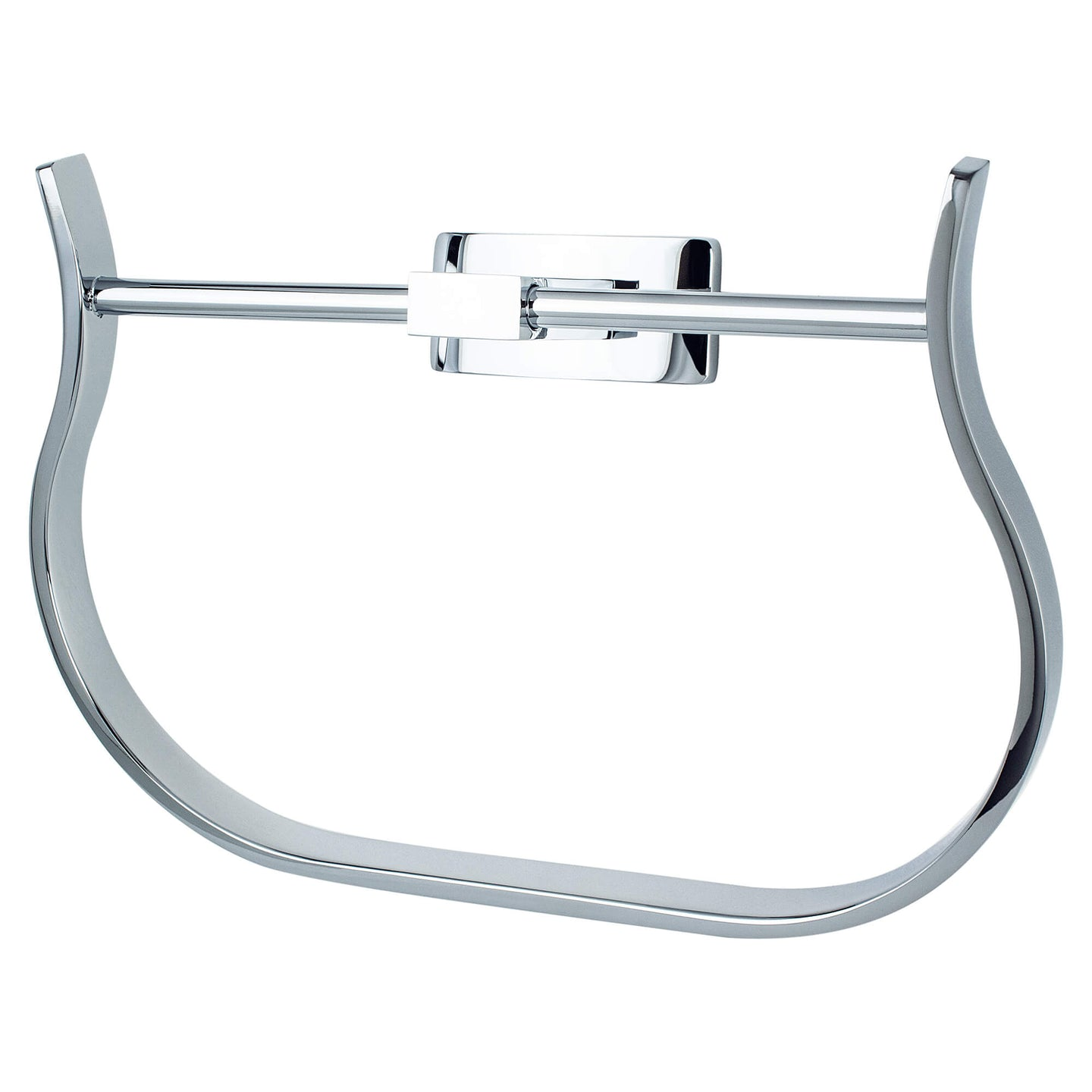 Curve Appeal Towel Ring Polished Chrome