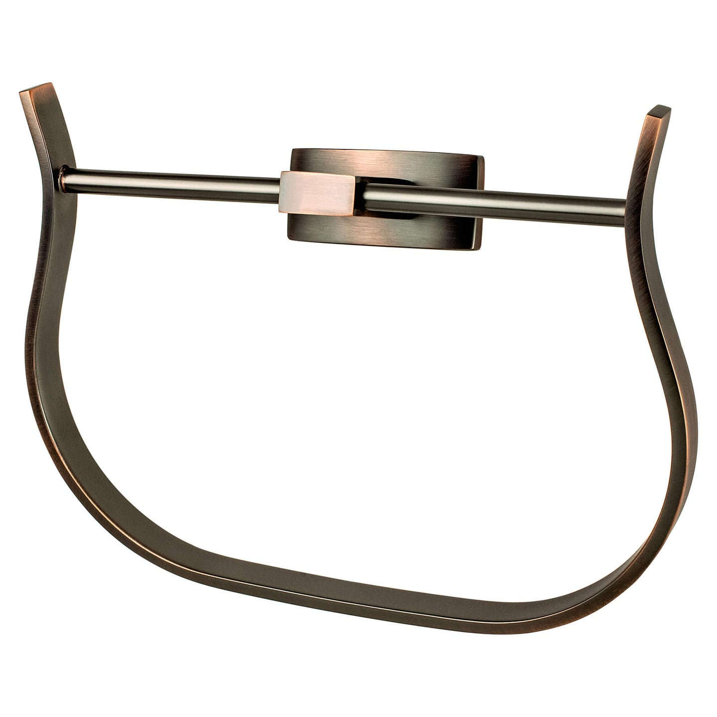 Curve Appeal Towel Ring Verona Bronze