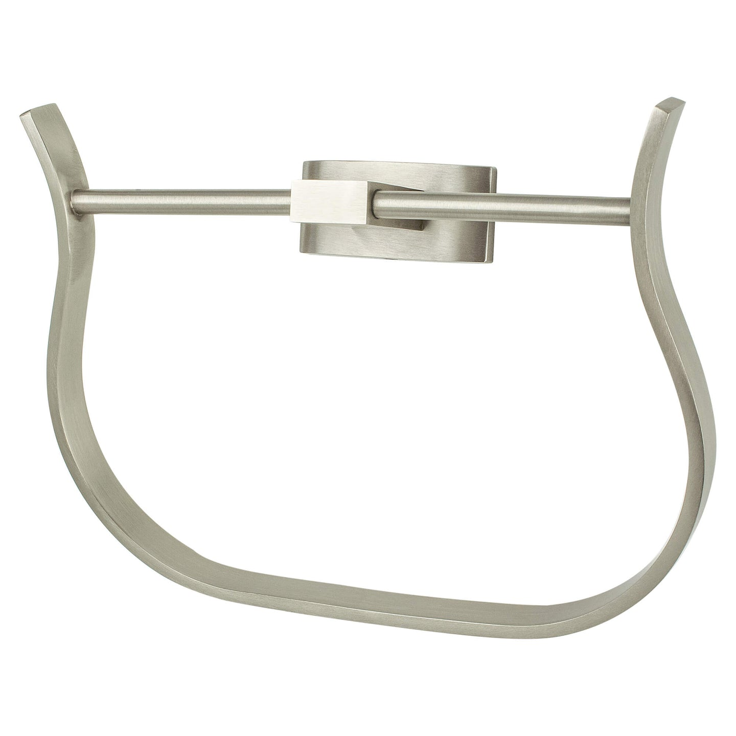 Curve Appeal Towel Ring Brushed Nickel