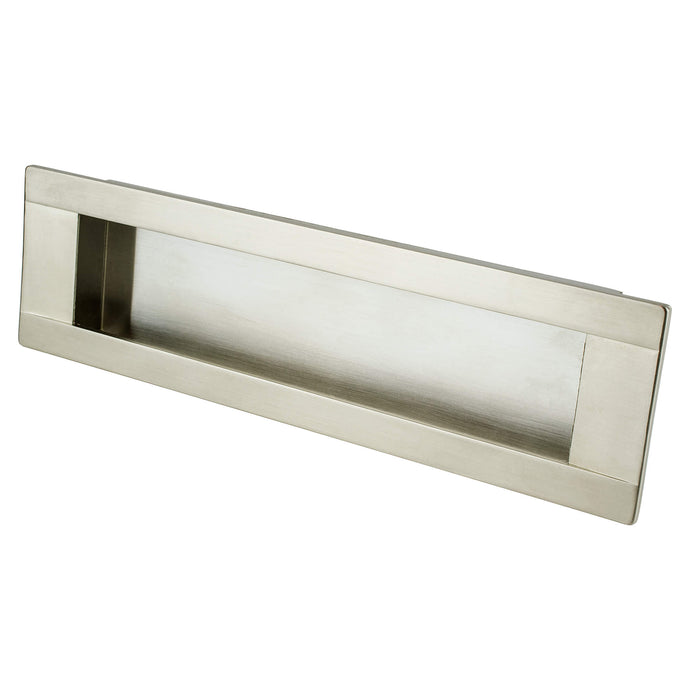 Sieze Recess Pull 160MM C/C Brushed Nickel