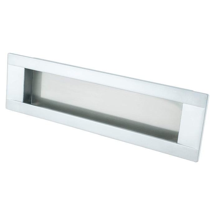 Sieze Recess Pull 160MM C/C Dull Chrome