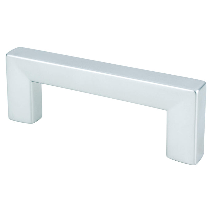 Square Pull 64MM C/C Dull Chrome