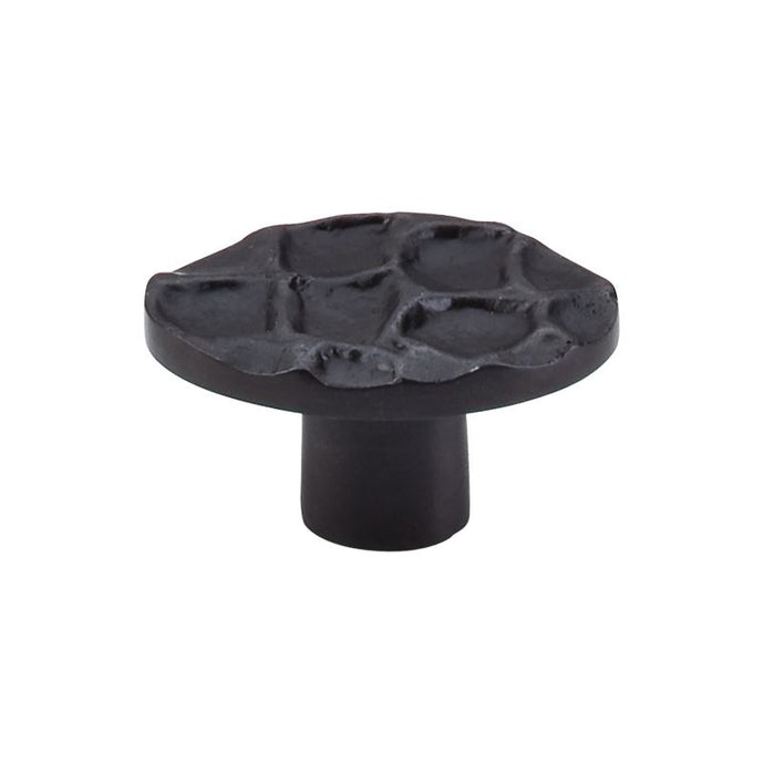 Top Knobs Cobblestone Oval Knob 2