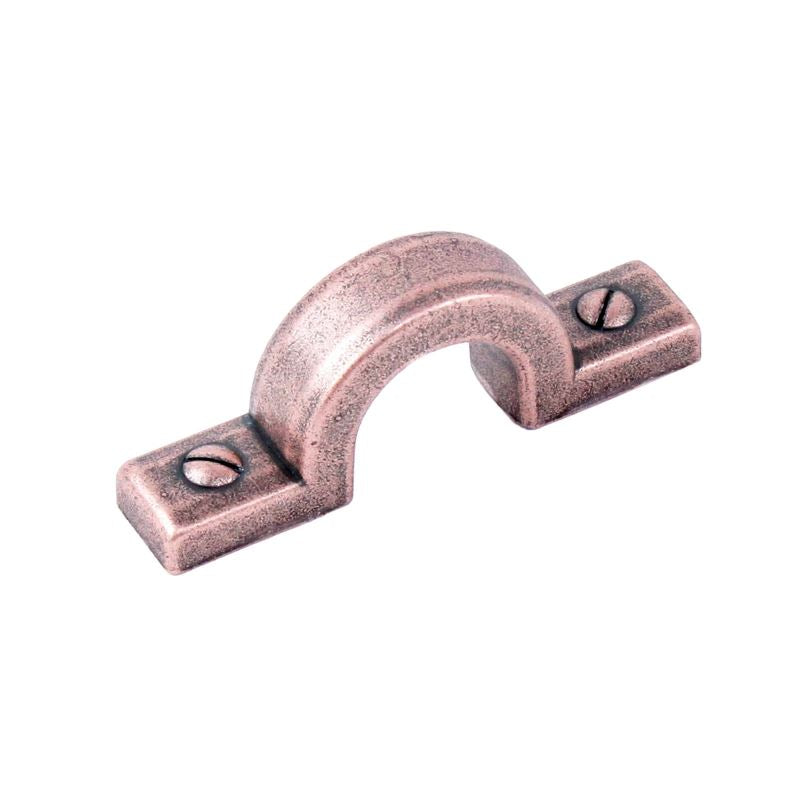 Raw Authentic - Zinc Die Cast Pull 32mm center-to-center in Aged Matte Red Copper