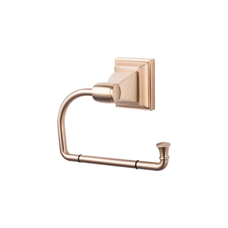 Top Knobs Stratton Bath Tissue Hook - Brushed Bronze