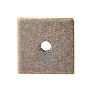 "Top Knobs Square Backplate 1"" - German Bronze"
