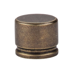 "Top Knobs Oval Knob Large 1 3/8"" - German Bronze"