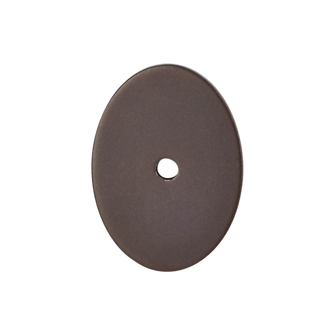 Top Knobs Oval Backplate Large 1 3/4