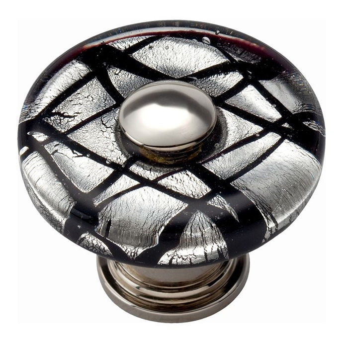 Atlas Eclipse Round Glass Knob