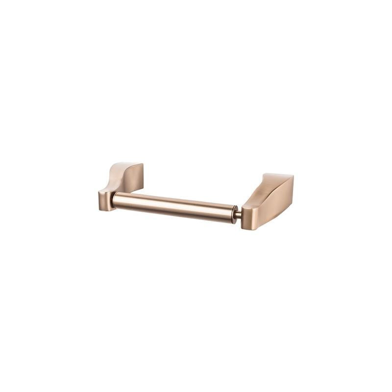 Top Knobs Aqua Bath Tissue Holder - Brushed Bronze