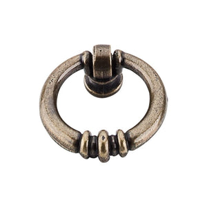 "Top Knobs Newton Ring Pull 1 1/2"" - German Bronze"