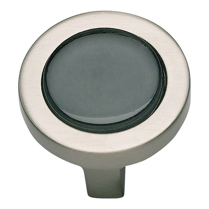Atlas Spa Black Round Knob