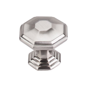 "Top Knobs Chalet Knob 1 1/2"" - Brushed Satin Nickel"