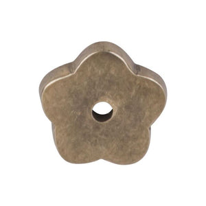 "Top Knobs Aspen Flower Backplate 1"" - Light Bronze"