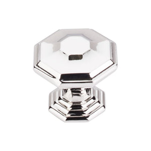 "Top Knobs Chalet Knob 1 1/2"" - Polished Nickel"
