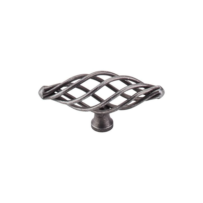 Top Knobs Oval Twist Knob Medium 3