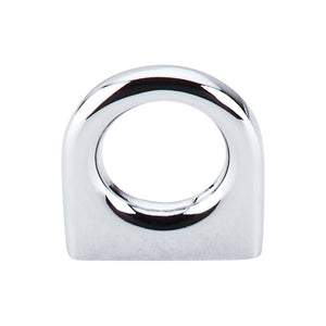 "Top Knobs Ring Pull 5/8"" (c-c) - Polished Chrome"