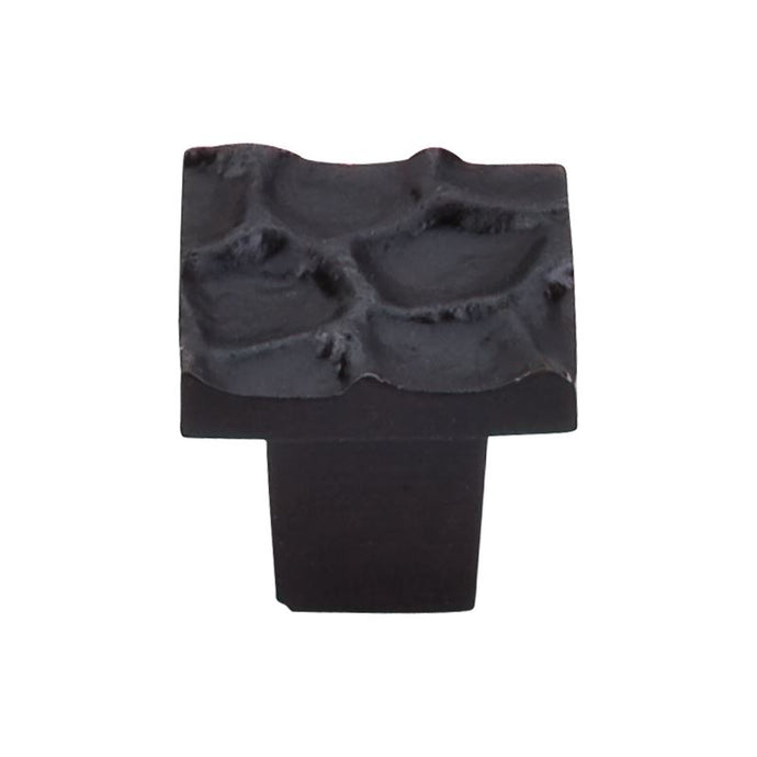 Top Knobs Cobblestone Square Knob 1 1/8