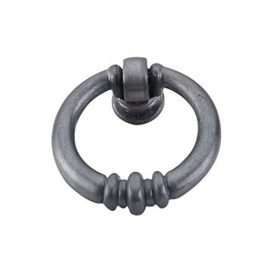 "Top Knobs Newton Ring Pull 1 1/2"" - Pewter Light"