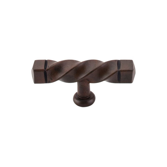 Top Knobs Square Twist T-Handle 3 3/16