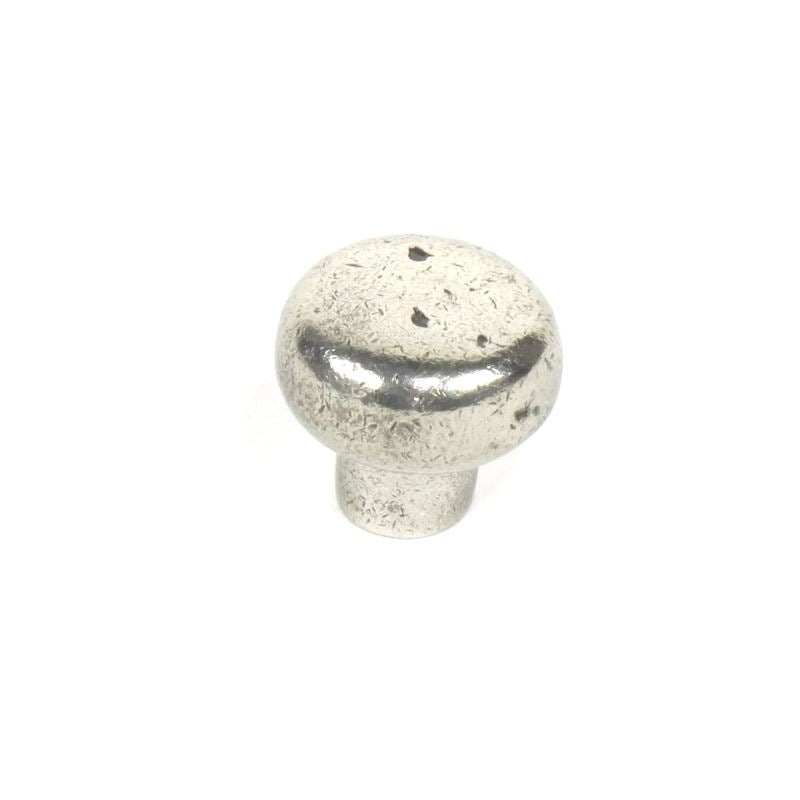 Whistler - Cast Bronze Knob 1-3/8 dia White Bronze Aged