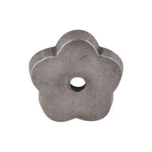 "Top Knobs Aspen Flower Backplate 1"" - Silicon Bronze Light"