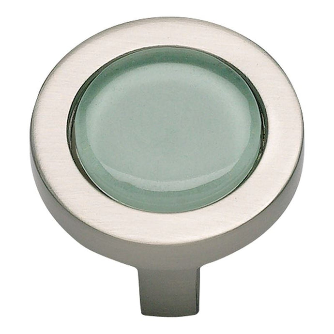 Atlas Spa Green Round Knob