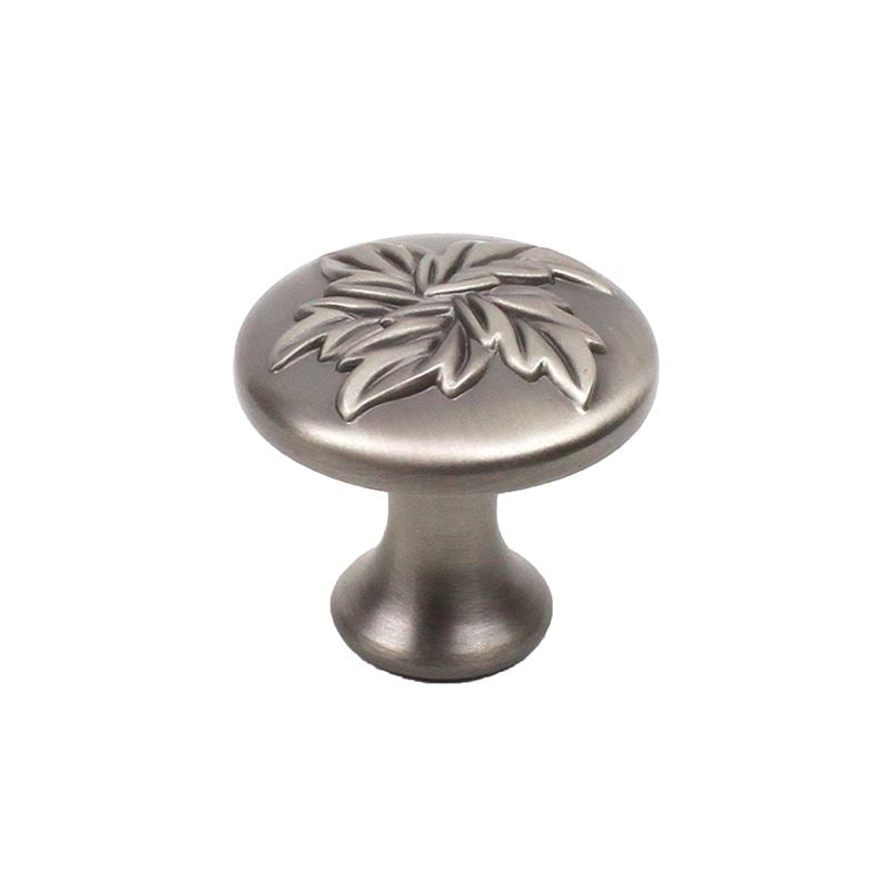 Aspen - Zinc Die Cast Knob 1-3/16 dia Antique Pewter