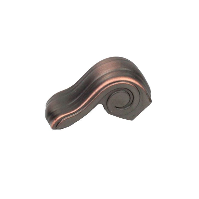 Volute 39.3mm zinc die cast knob in Antique Bronze with Copper