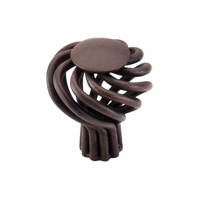 Top Knobs Round Twist Knob Small 1 1/4