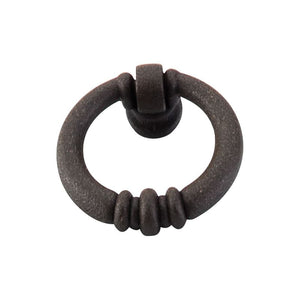 "Top Knobs Newton Ring Pull 1 1/2"" - Rust"