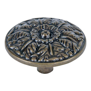 Atlas Small Round Hammered Knob