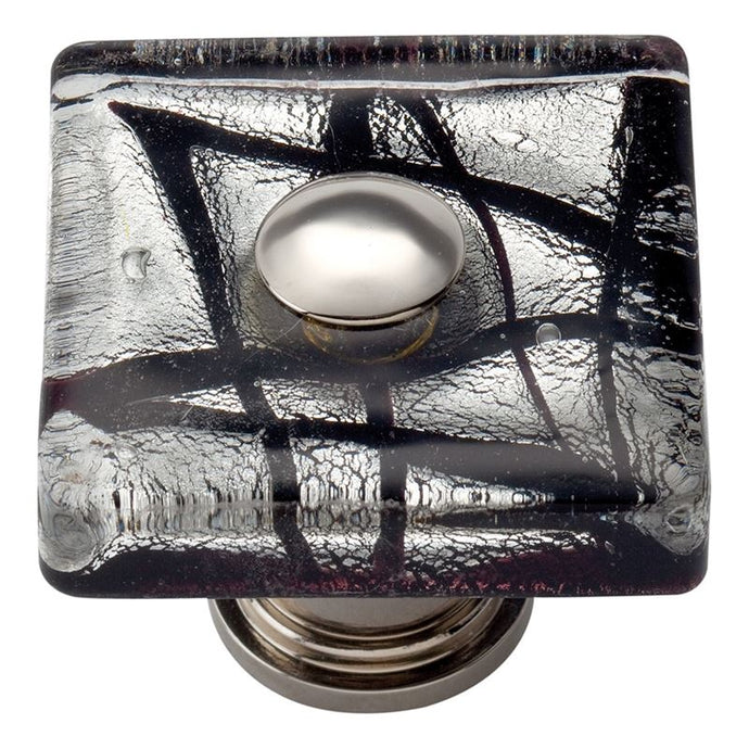 Atlas Eclipse Square Glass Knob