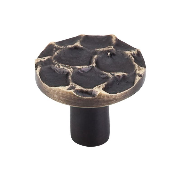 Top Knobs Cobblestone Round Knob 1 3/8